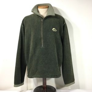 Mens M Lowe Alpine Half Zip Pullover Thick Fleece